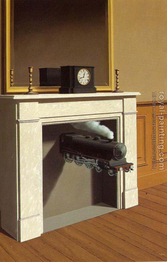 Rene Magritte : time transfixed