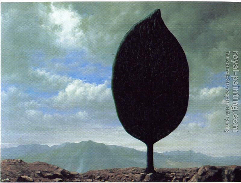 Rene Magritte : the plain of the air