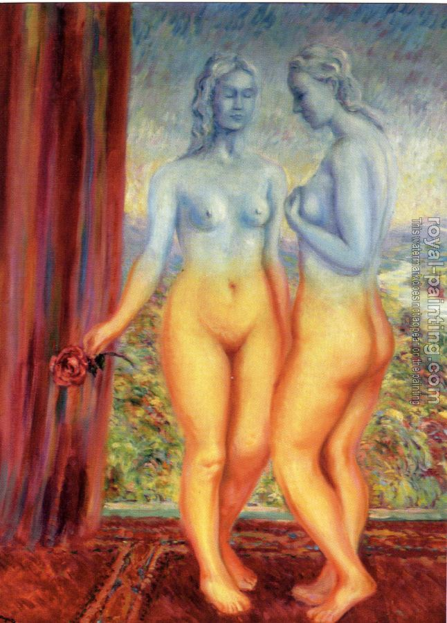 Rene Magritte : the felicity of images of friendship
