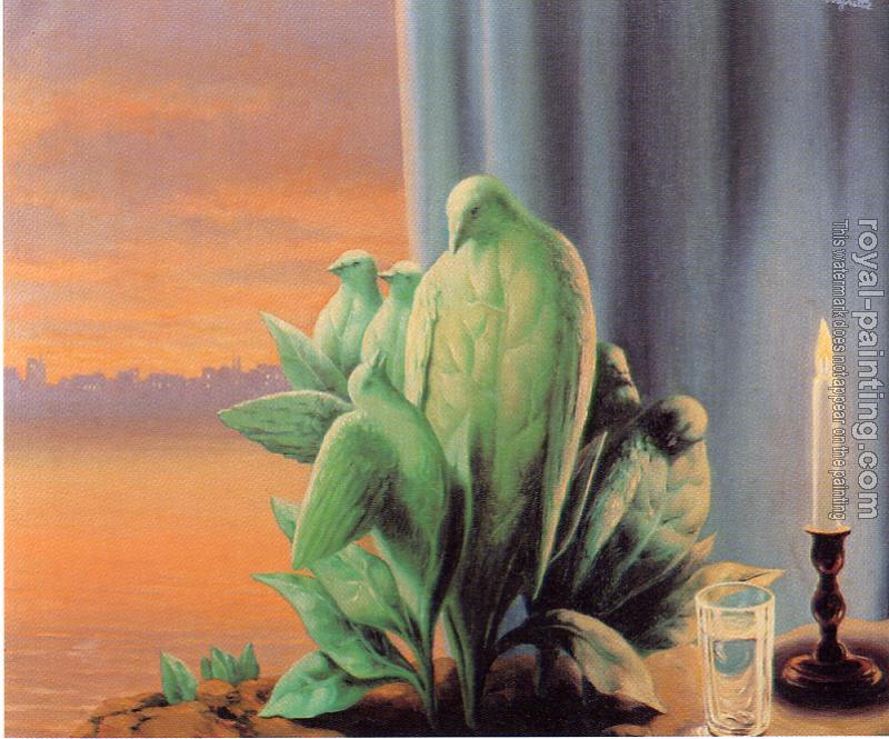 Rene Magritte : night of love