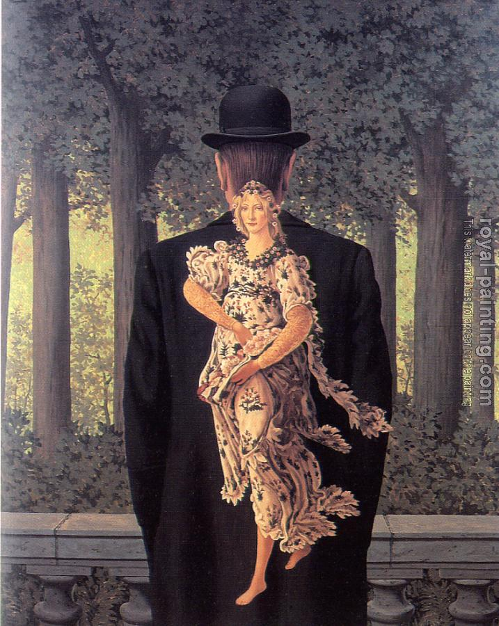Rene Magritte : the ready-made bouquet