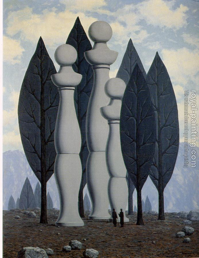 Rene Magritte : the art of conversation IV