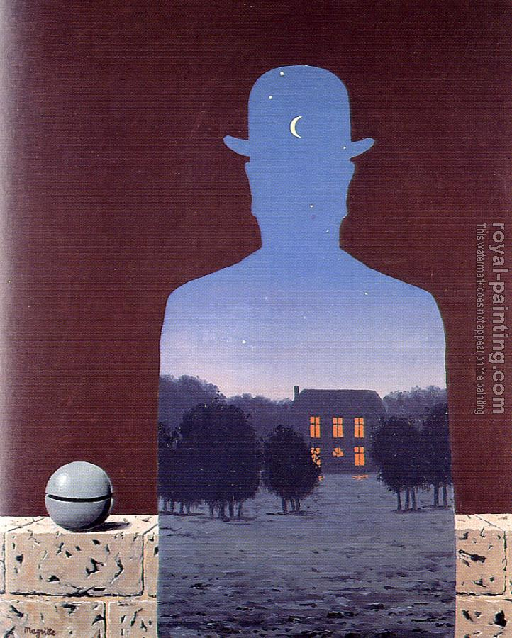 Rene Magritte : the happy donor
