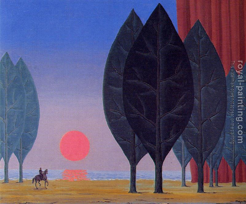 Rene Magritte : the forest of paimpont