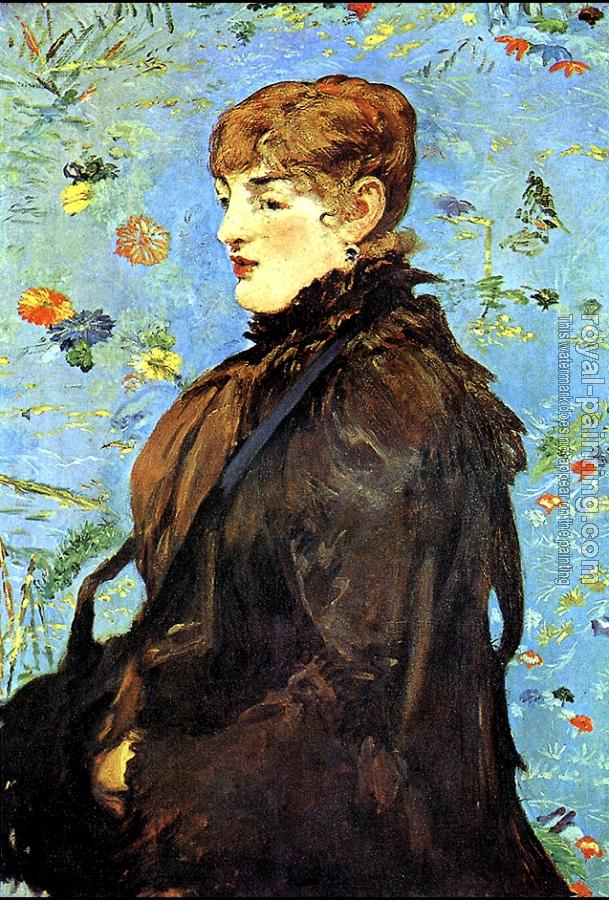 Autumn Study Of Mery Laurent By Edouard Manet Oil
