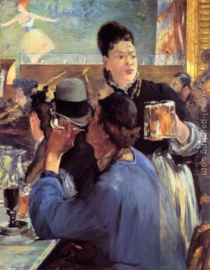 Edouard Manet : Corner of a Cafe-Concert