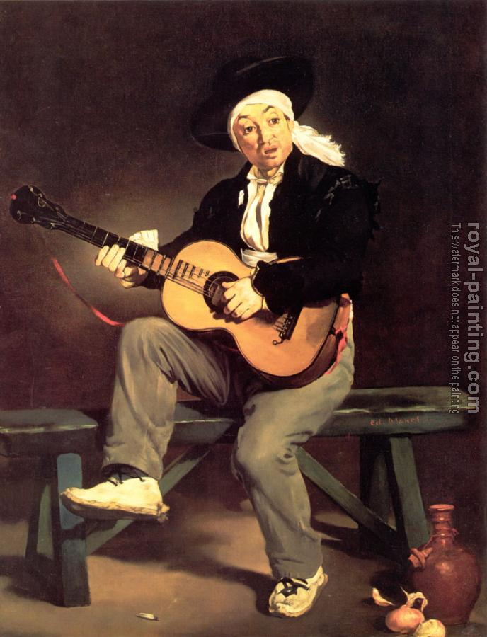 Edouard Manet : The Spanish Singer (The Guitar Player)