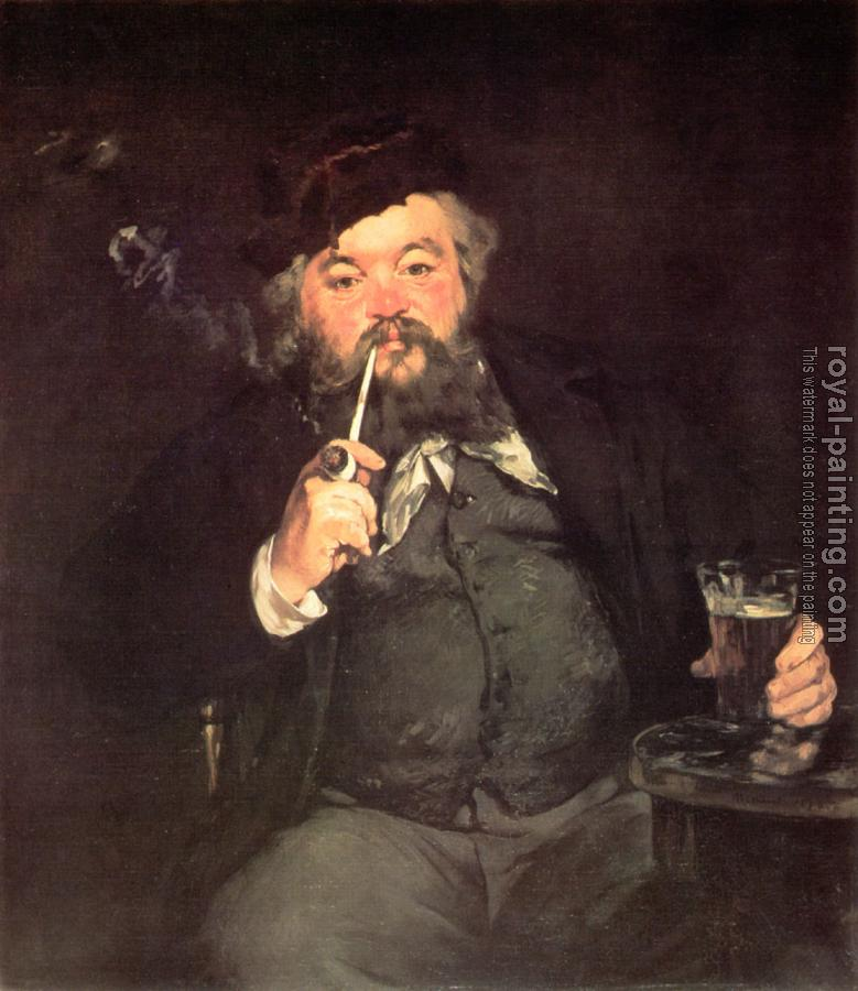 Edouard Manet : Le Bon Bock(A Good Glass of Beer. , Study of Emile Bellot)
