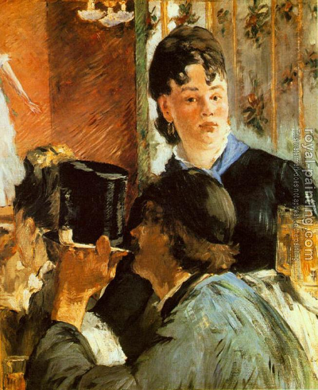Edouard Manet : The Waitress