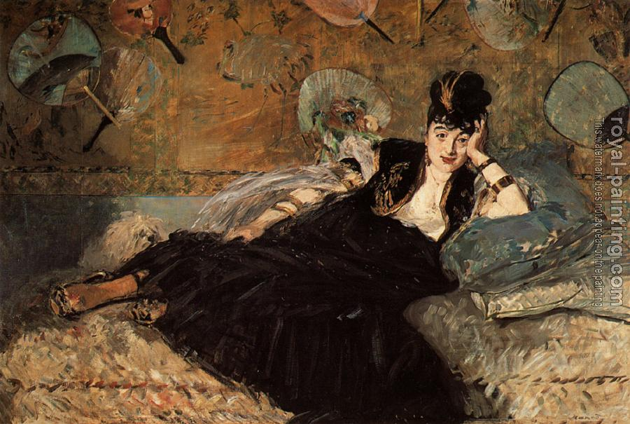 Edouard Manet : Woman with Fans (Nina de Callias)