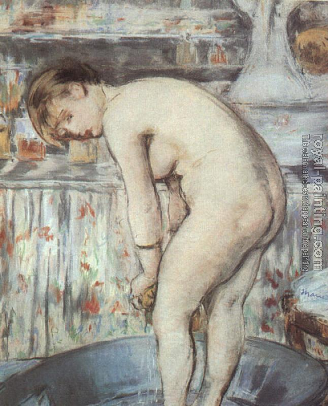 Edouard Manet : Woman in a Tub