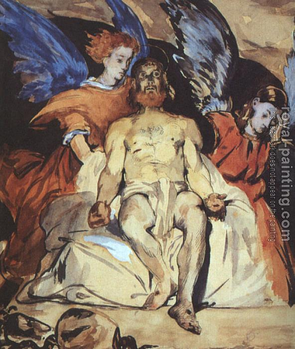 Edouard Manet : Christ with Angels