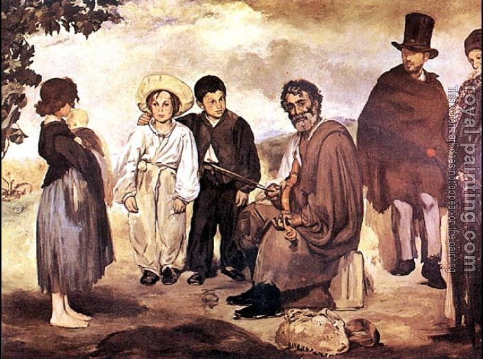Edouard Manet : The old musician