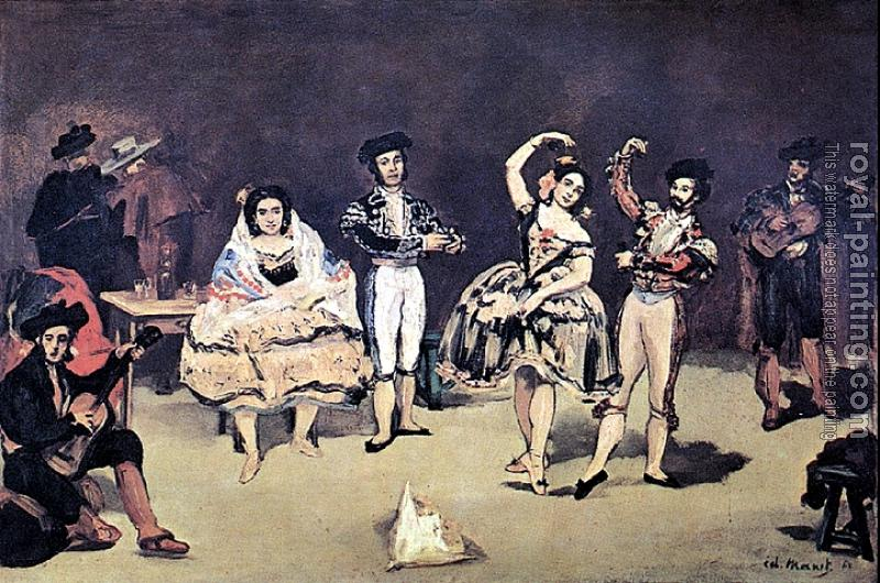 Edouard Manet : The spanish ballet