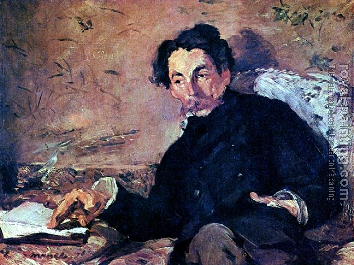 Edouard Manet : Portrait of Stephane Mallarme