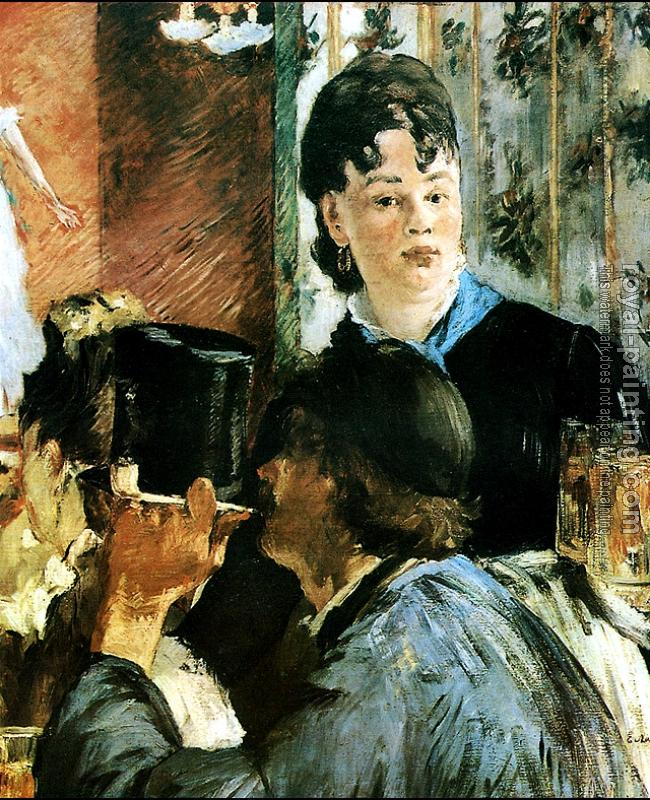 Edouard Manet : The waitress II