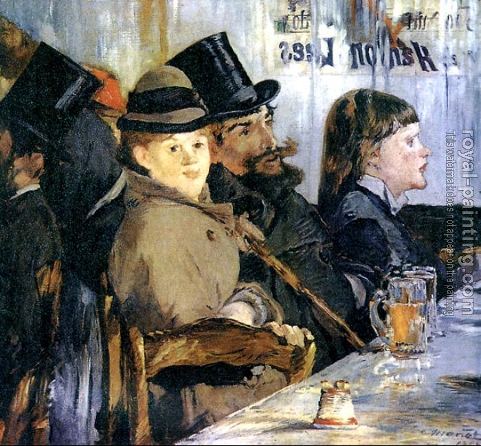 Edouard Manet : In the Cafe