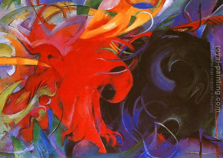 Franz Marc : Fighting Forms
