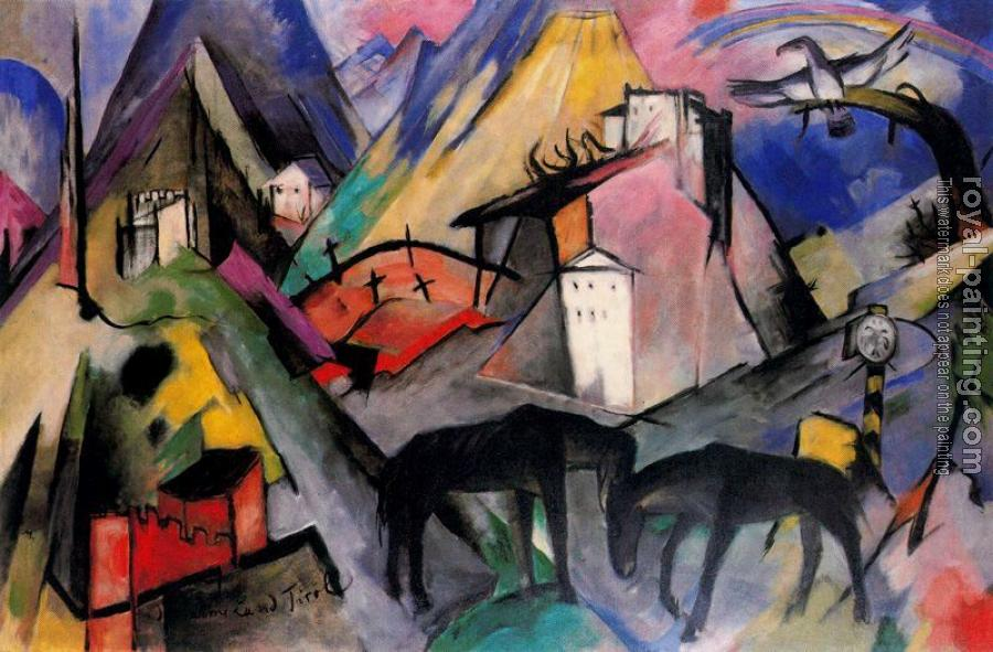 Franz Marc : The Unfortunte Land of Tyrol