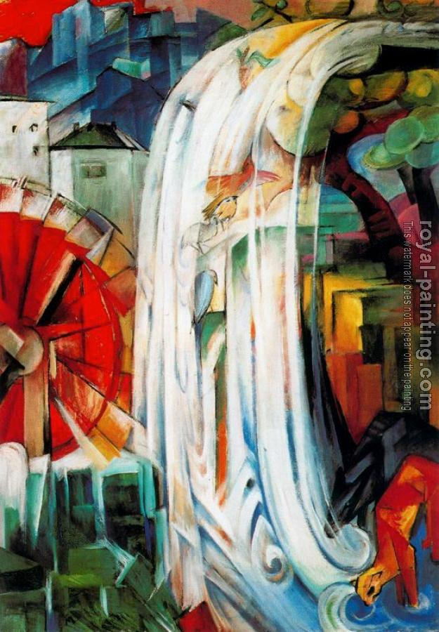Franz Marc : The Enchanted Mill
