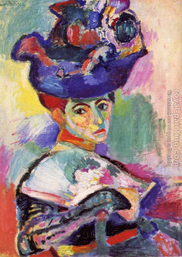 Henri Emile Benoit Matisse : the woman with the hat