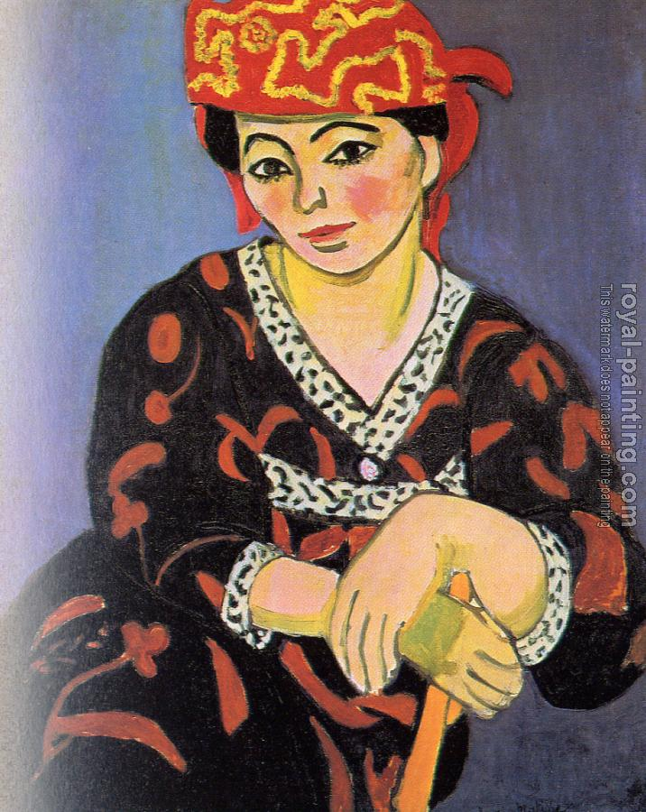 Henri Emile Benoit Matisse : The Red Madras Headdress