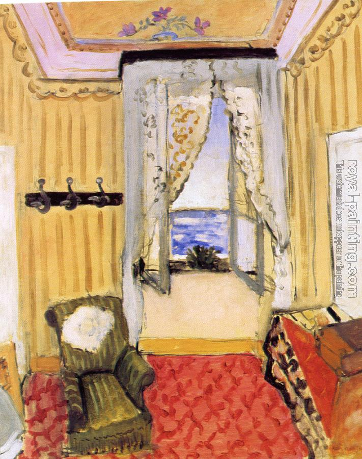 Henri Emile Benoit Matisse : my room at the beau-rivage