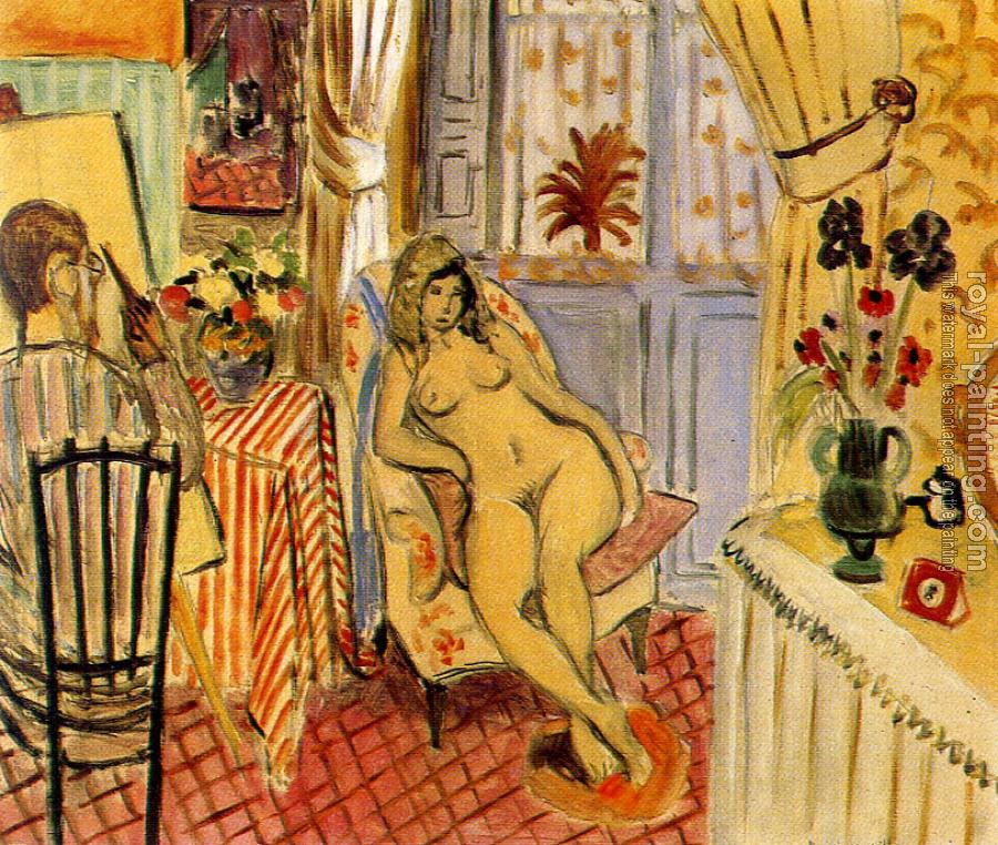 Henri Emile Benoit Matisse : the painter and his model