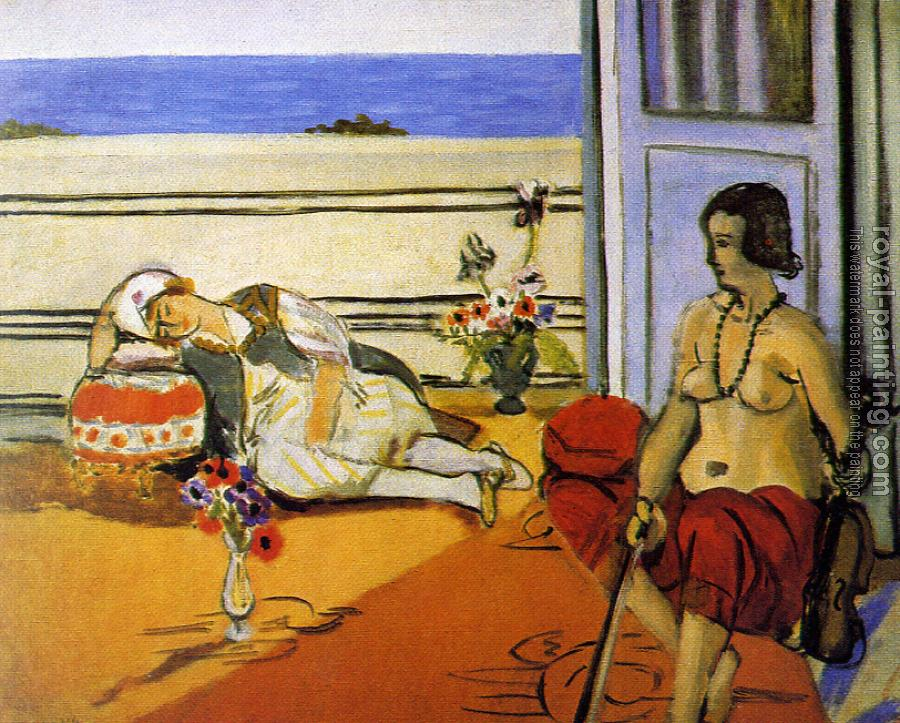 Henri Emile Benoit Matisse : the two odalisques