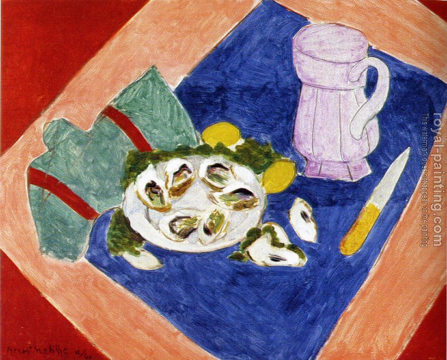Henri Emile Benoit Matisse : still life with oysters