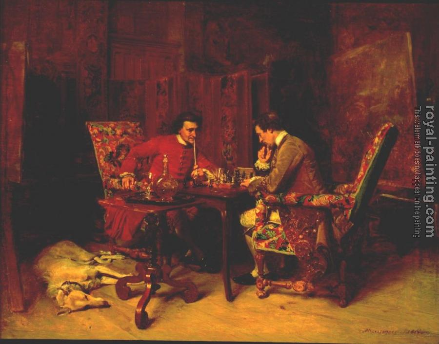 Jean-Louis Ernest Meissonier : Chess Players