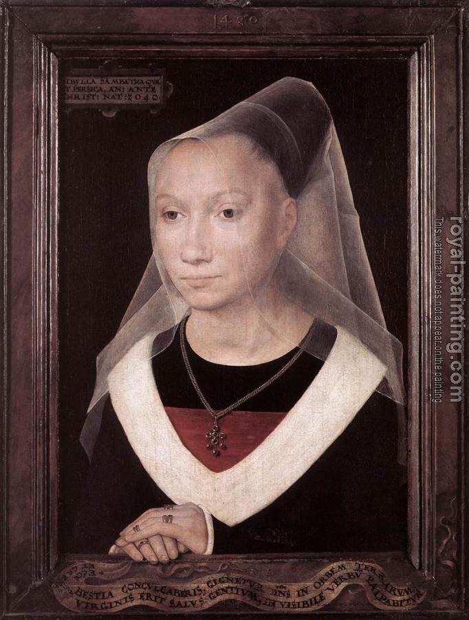 Hans Memling : Portrait of a Young Woman