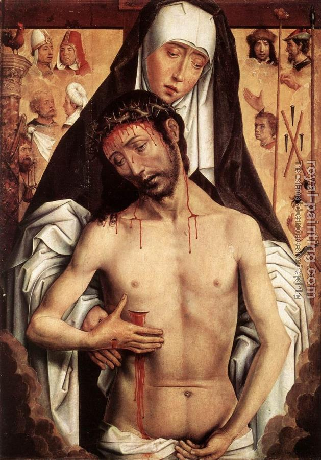 Hans Memling : The Virgin Showing the Man of Sorrows