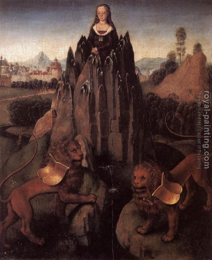 Hans Memling : Allegory with a Virgin