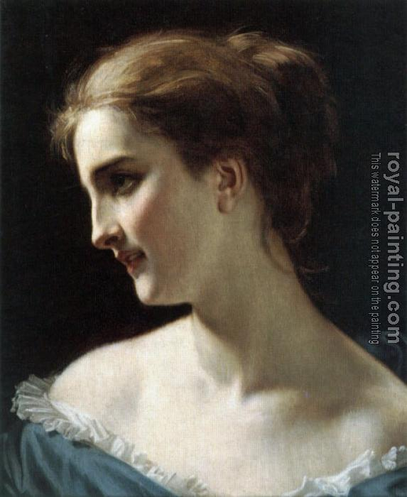 Hughes Merle : A portrait of a Woman