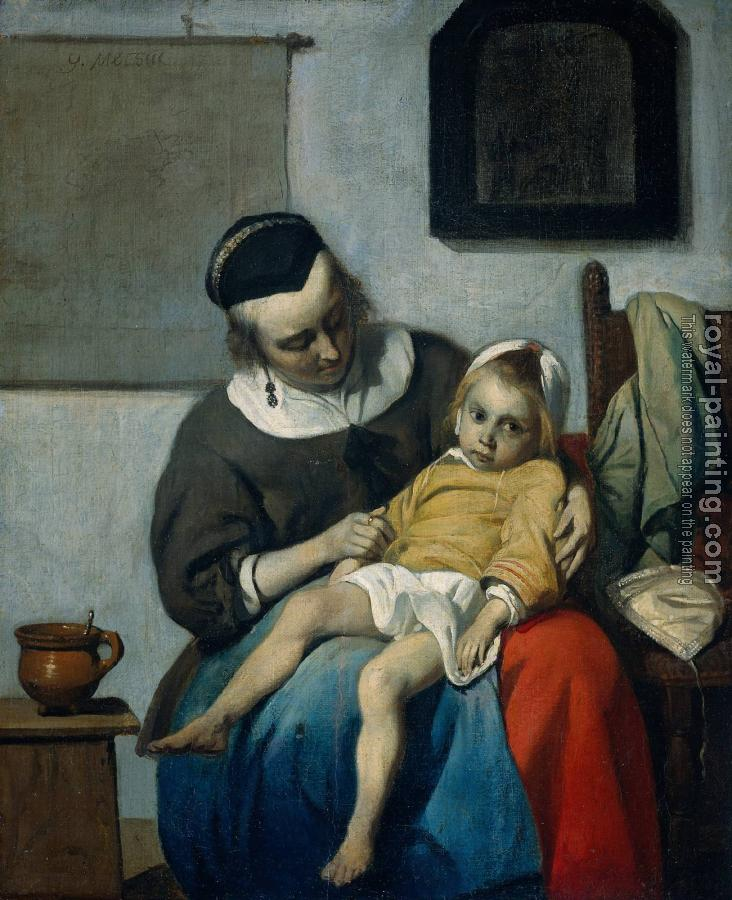 Gabriel Metsu : The Sick Child