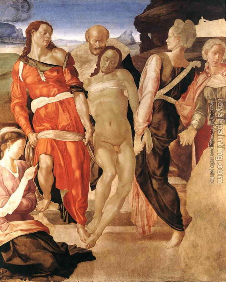 Michelangelo : Entombment