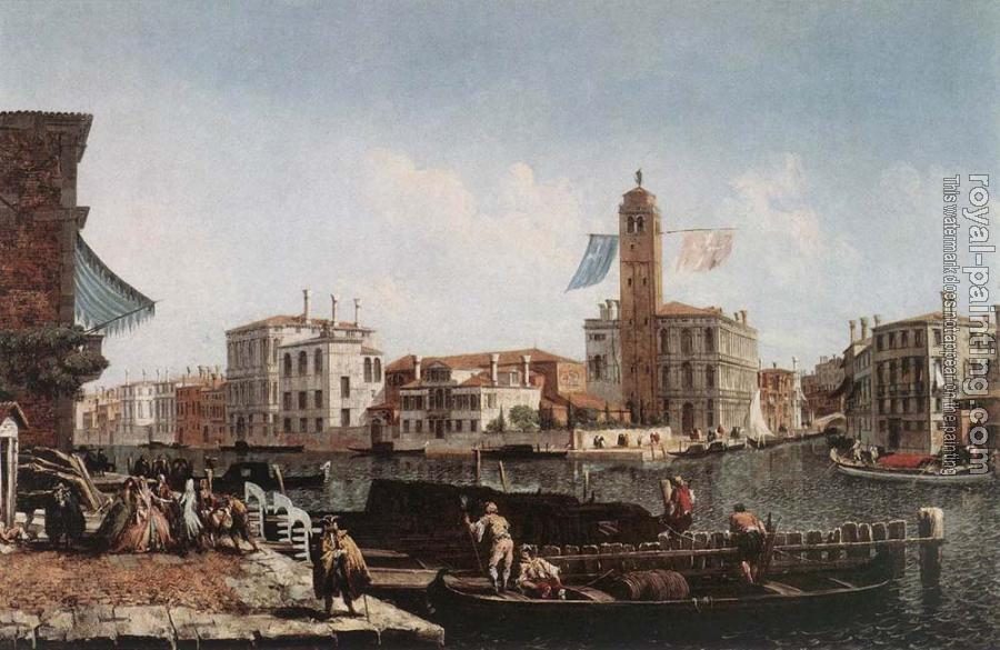 Michele Marieschi : The Grand Canal with the Fishmarket