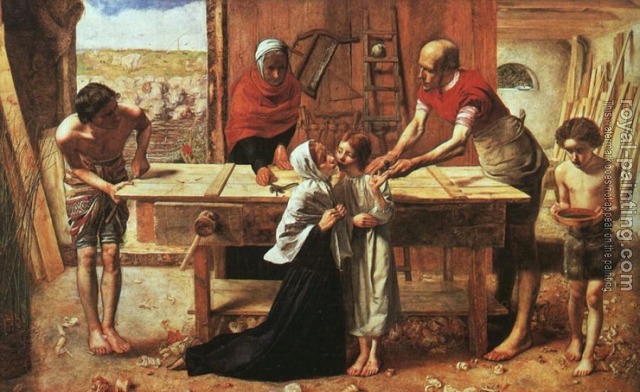 Sir John Everett Millais : Christ in the House of His Parents