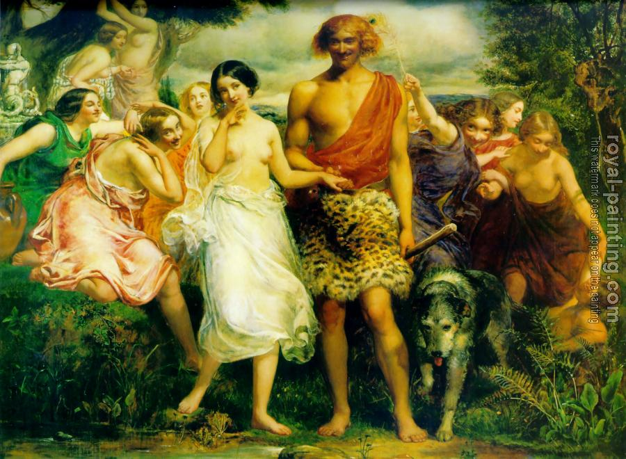 Sir John Everett Millais : Cymon and Iphigenia