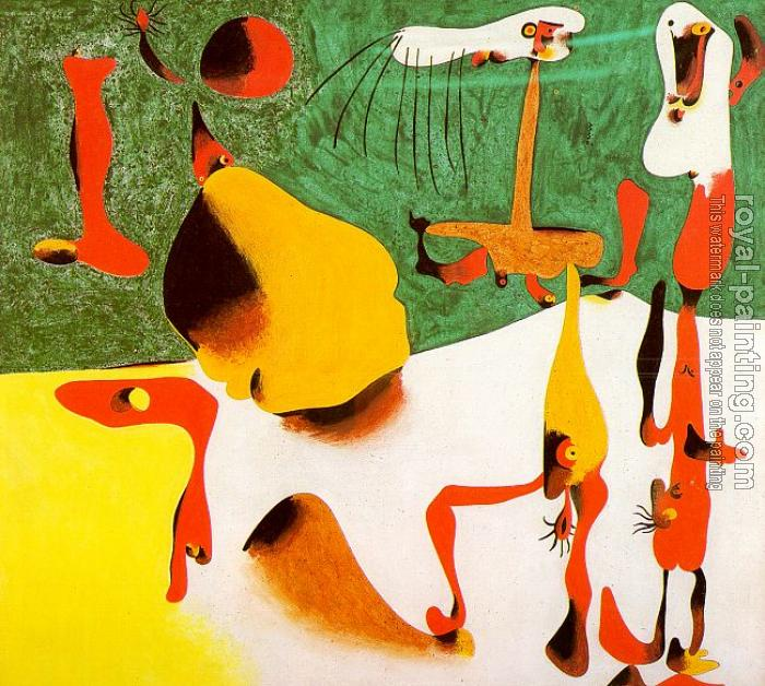 Joan Miro : Personages in the Presence of a Metamorphosis