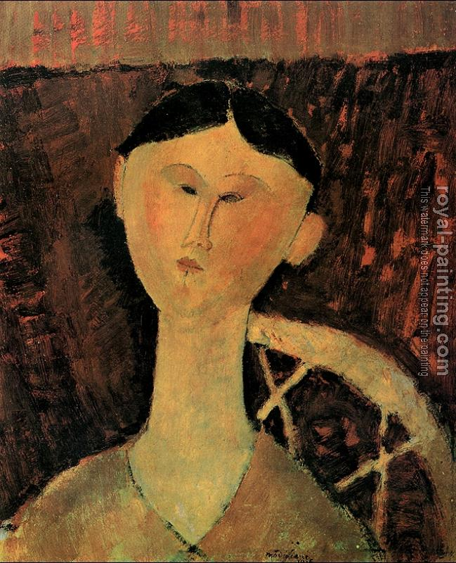 Amedeo Modigliani : Portrait of Beatrice Hastings
