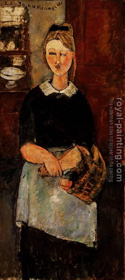 Amedeo Modigliani : The Pretty Housewife