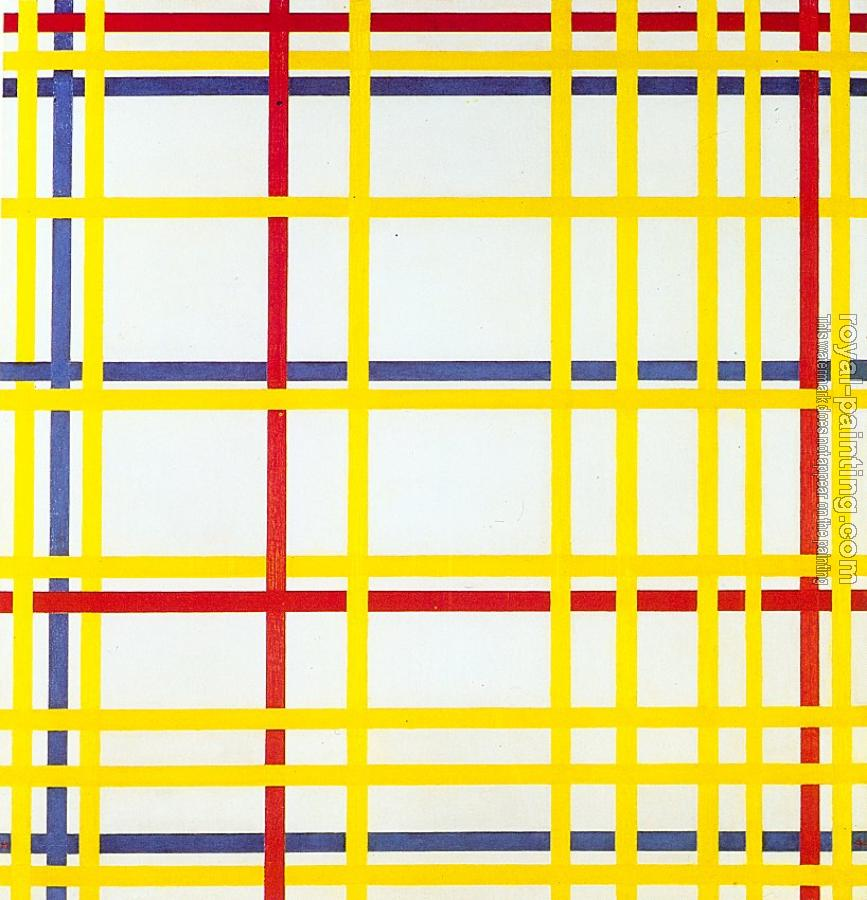 Piet Mondrian : New York City I