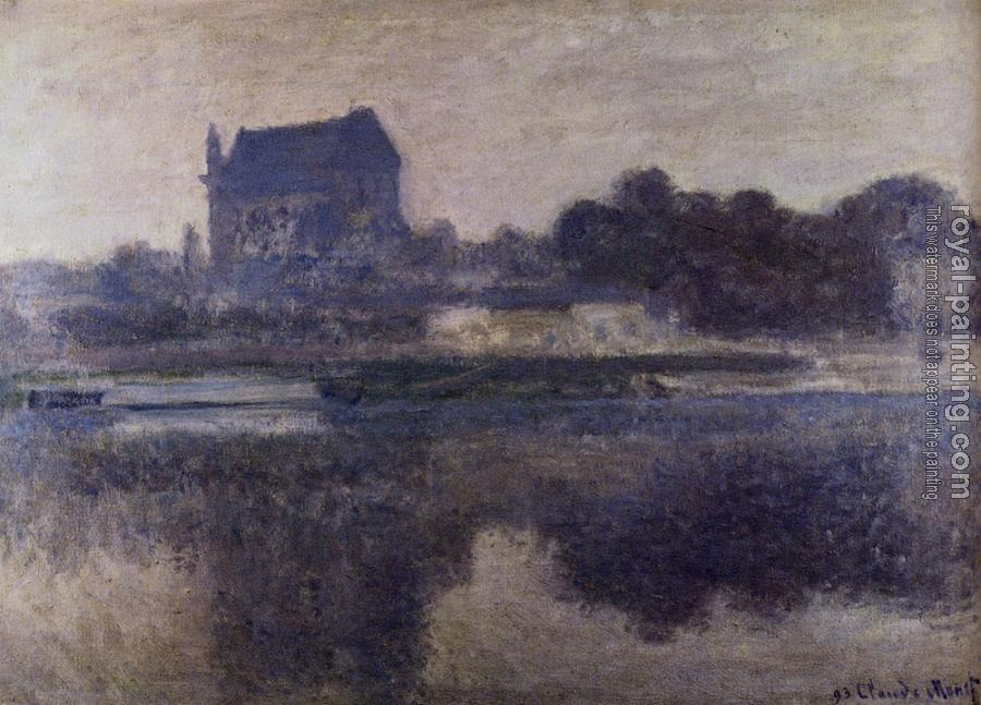 Claude Oscar Monet : The Church Of Vernon In The Mist