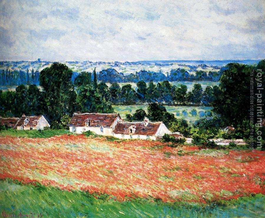 Claude Oscar Monet : Field Of Poppies, Giverny