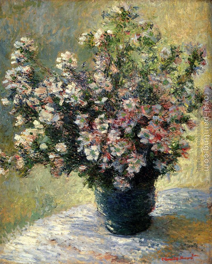 Claude Oscar Monet : Vase Of Flowers