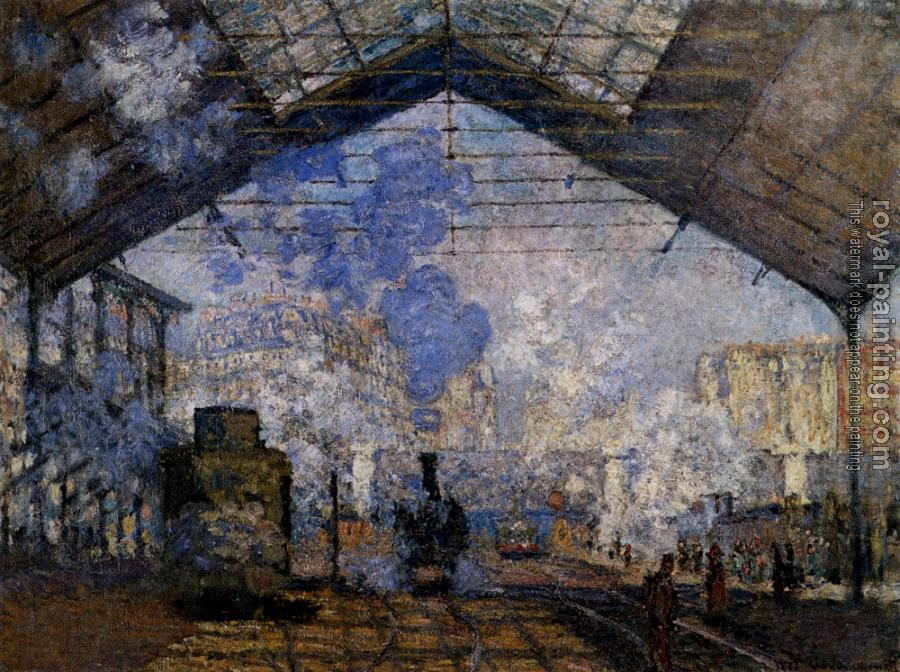 Claude Oscar Monet : The Gare Saint-Lazare