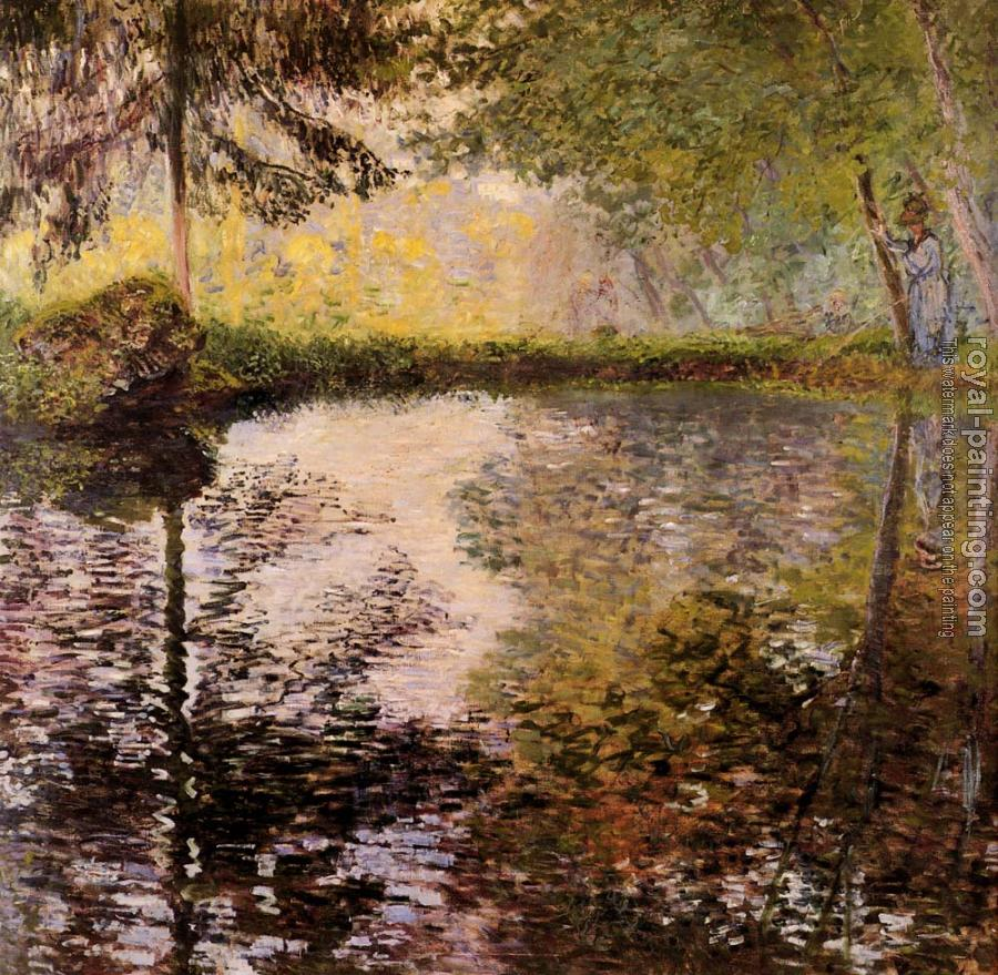 Claude Oscar Monet : Pond at Montgeron
