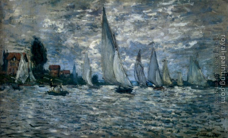 The Boats: Regatta At Argenteuil